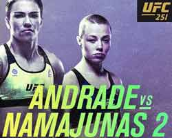 andrade-namajunas-2-fight-ufc-251-poster