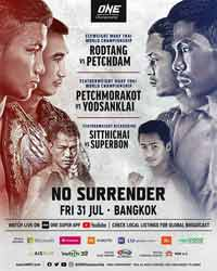 rodtang-petchdam-3-full-fight-video-one-no-surrender-poster