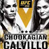 chookagian-calvillo-full-fight-video-ufc-255-poster