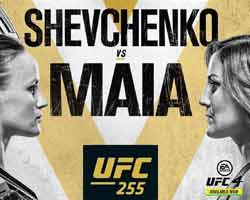 shevchenko-maia-full-fight-video-ufc-255-poster