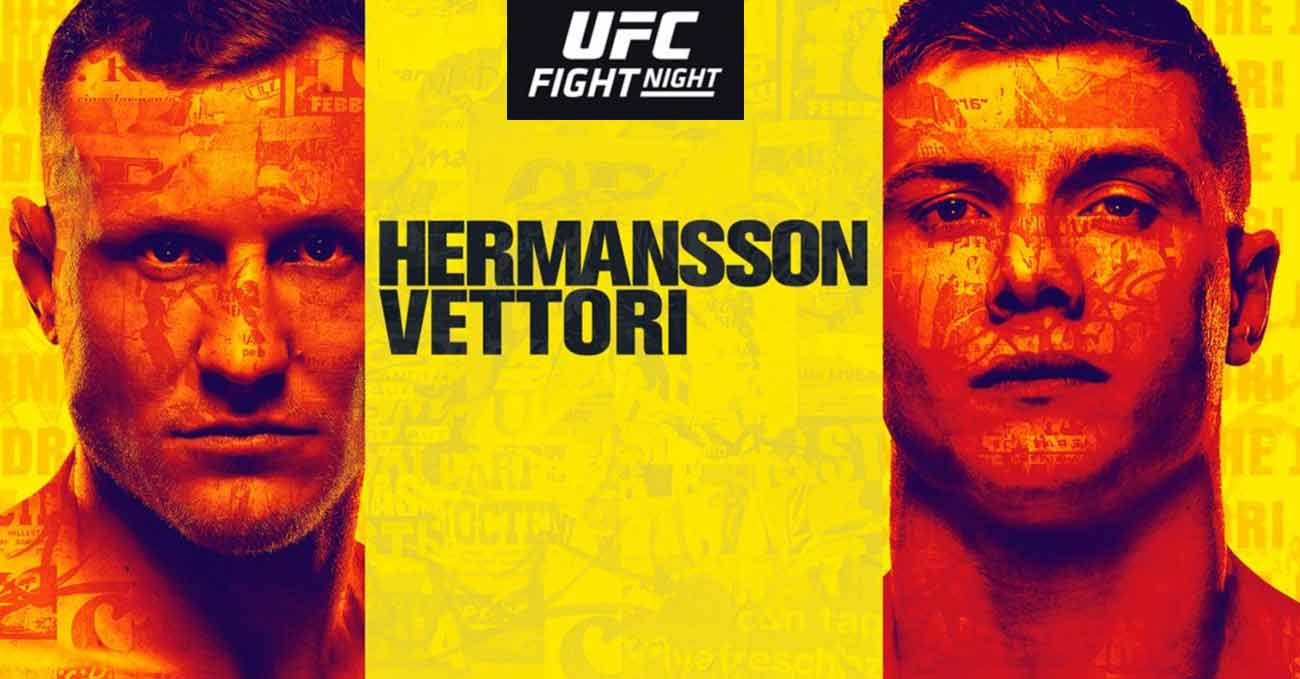 hermansson-vettori-full-fight-video-ufc-on-espn-19-poster
