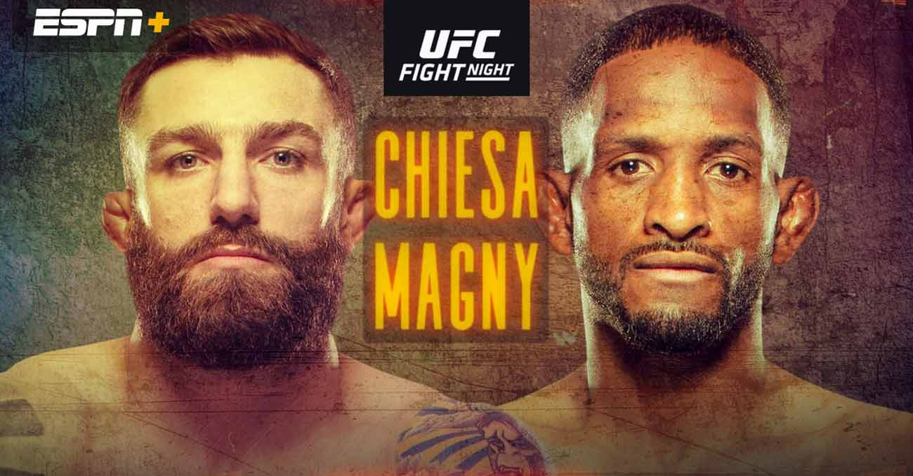Michael Chiesa vs Neil Magny full fight video Ufc on Espn 20 poster