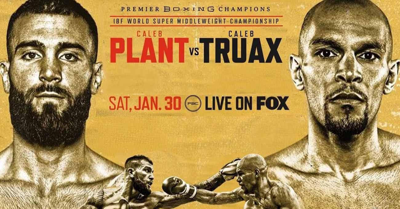 Caleb Plant vs Caleb Truax full fight video poster 2021-01-30