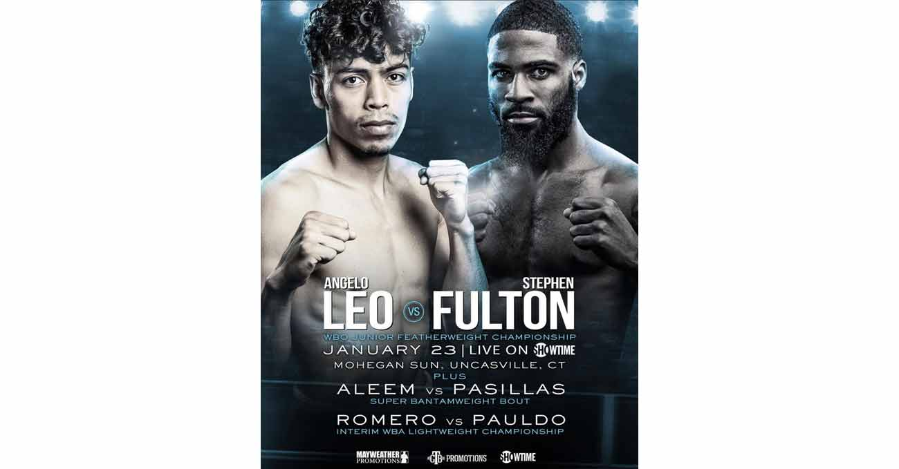 Poster of Leo vs Fulton 2021-01-23