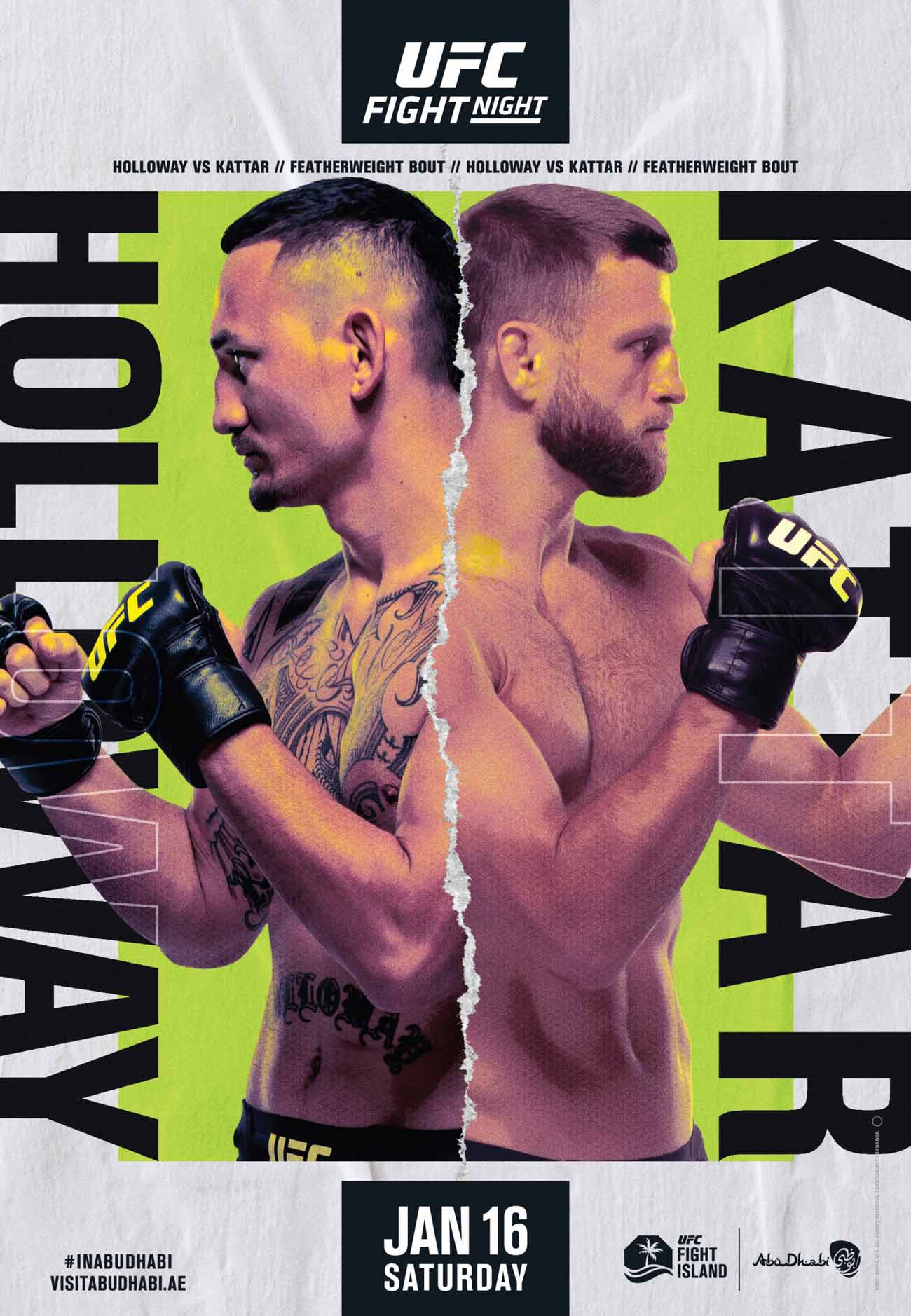 Poster of UFC on ABC 1: Holloway vs Kattar