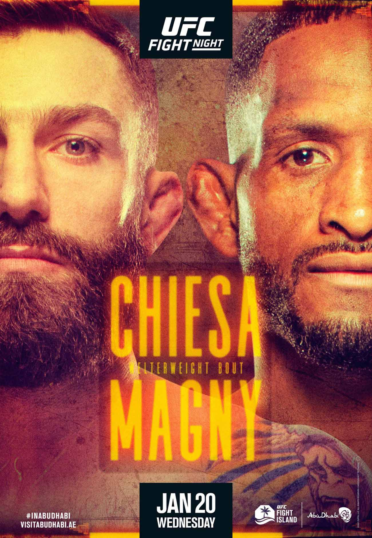 Poster of Ufc on Espn 20: Chiesa vs Magny
