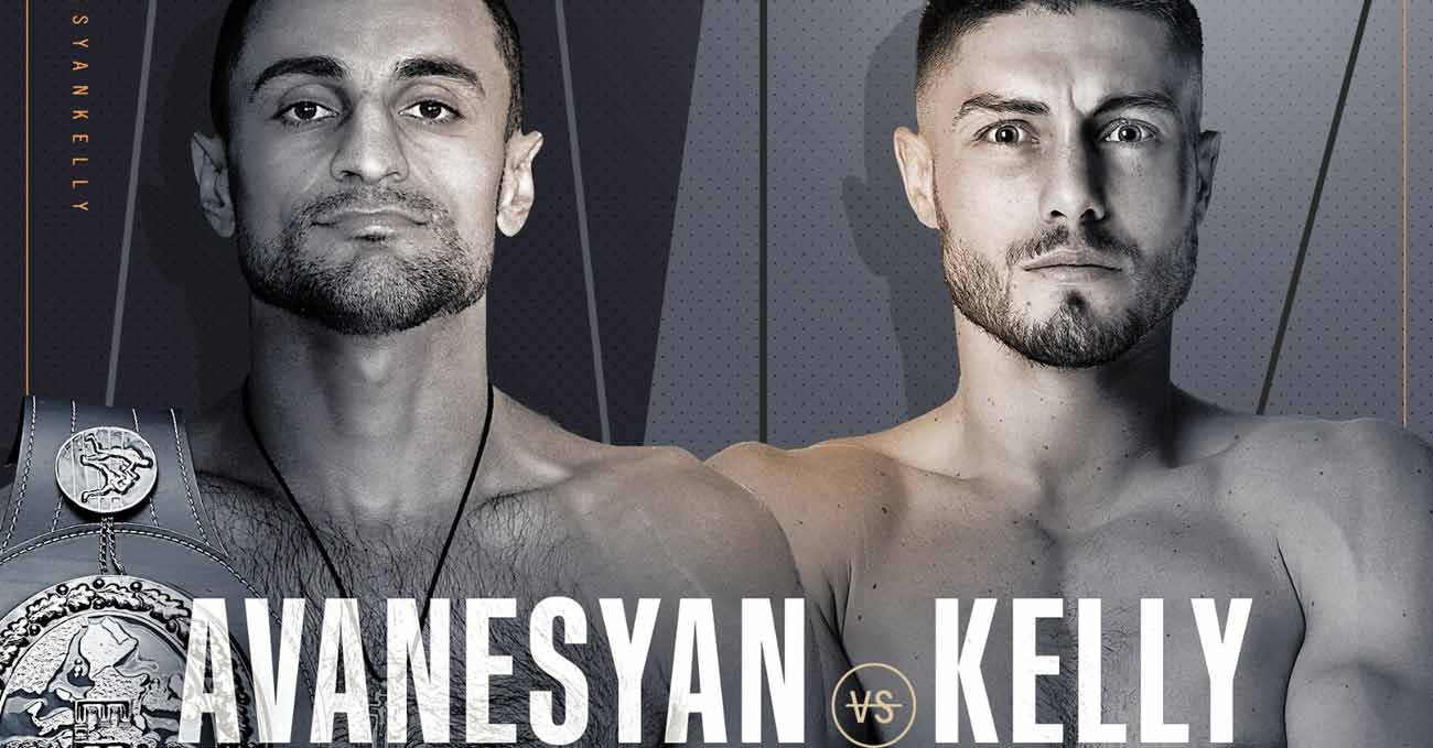 David Avanesyan vs Josh Kelly full fight video poster 2021-02-20