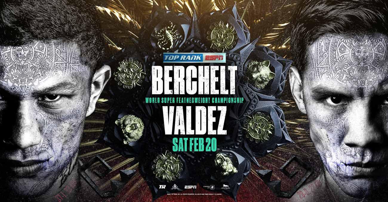 Miguel Berchelt vs Oscar Valdez full fight video poster 2021-02-20
