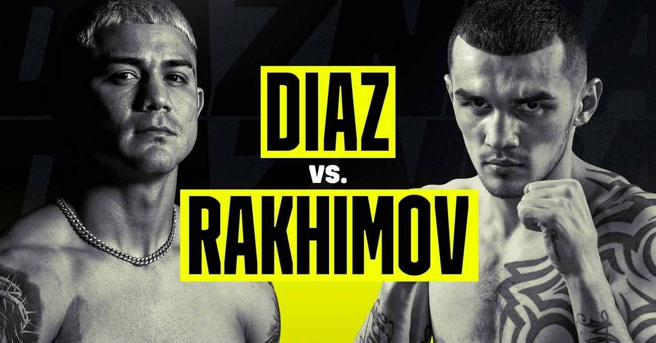 Joseph Diaz vs Shavkatdzhon Rakhimov full fight video poster 2021-02-13