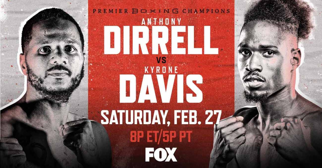 Anthony Dirrell vs Kyrone Davis full fight video poster 2021-02-27