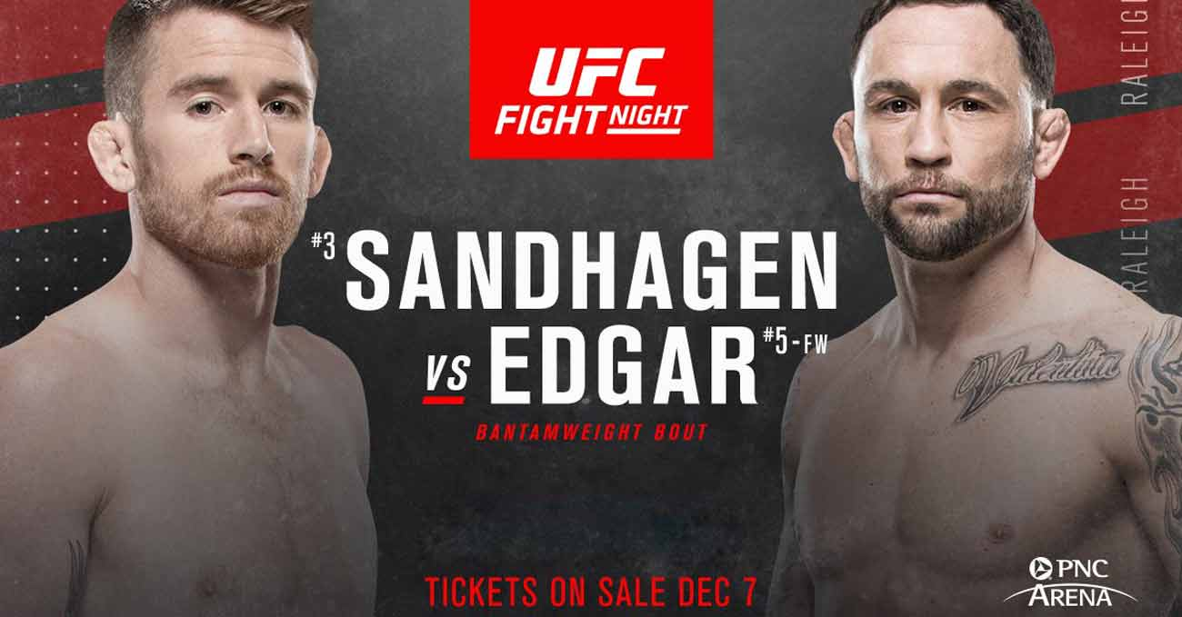 Frankie Edgar vs Cory Sandhagen full fight video UFC Vegas 18 poster