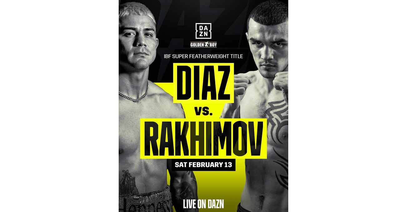 Poster of JoJo Diaz vs Rakhimov 2021-02-13