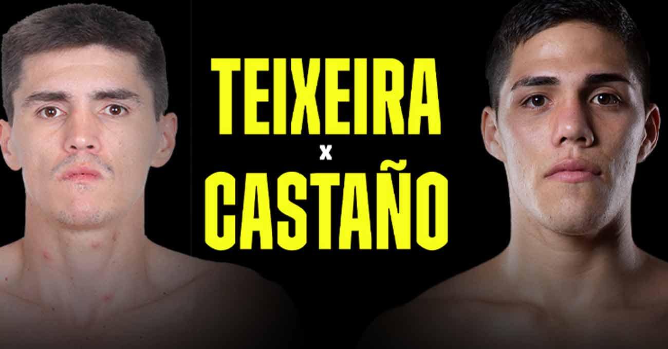Patrick Teixeira vs Brian Castano full fight video poster 2021-02-13