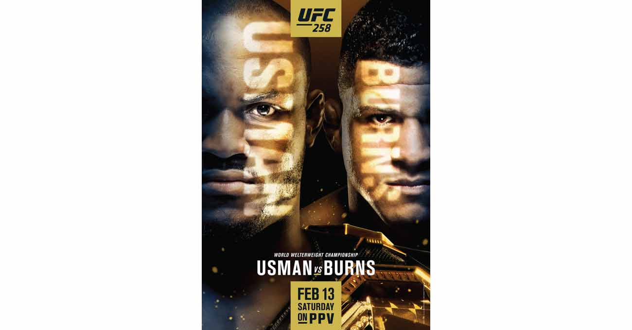 Poster of UFC 258: Usman vs Burns