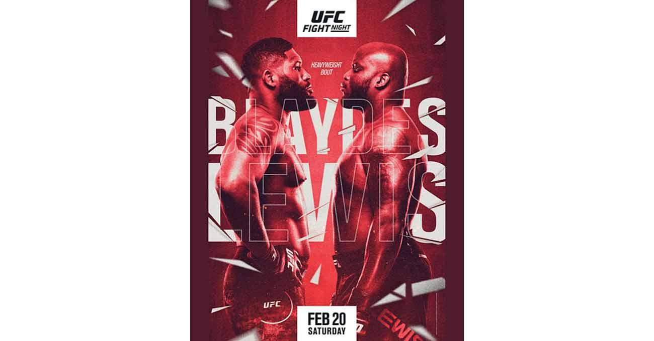 Poster of UFC Vegas 19: Blaydes vs Lewis