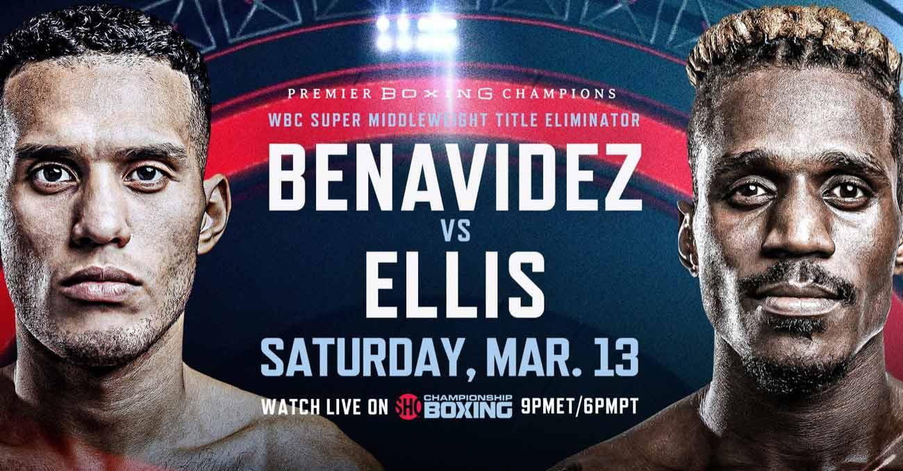 David Benavidez vs Ronald Ellis full fight video poster 2021-03-13