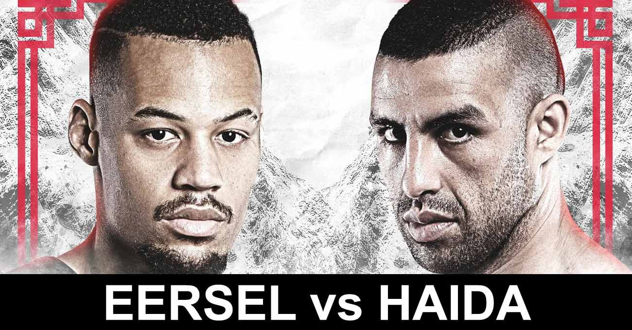 Regian Eersel vs Mustapha Haida full fight video ONE Fists Of Fury 3 poster