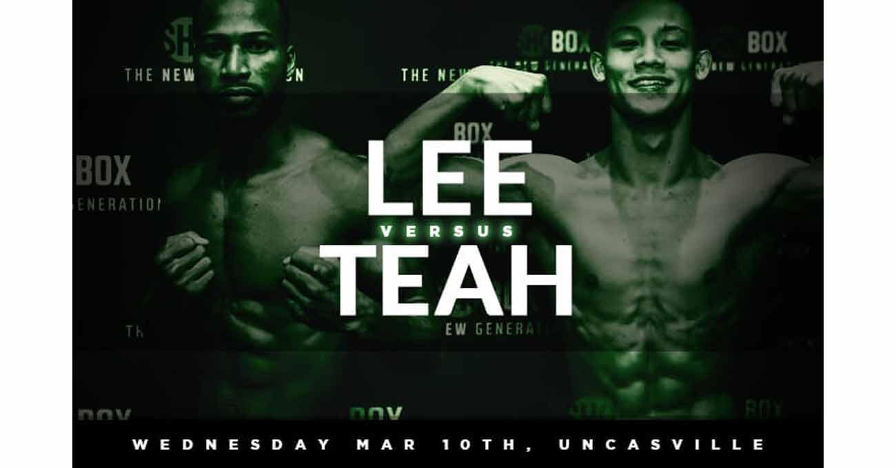 Brandun Lee vs Samuel Teah full fight video poster 2021-03-10