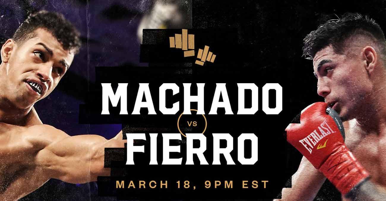 Alberto Machado vs Angel Fierro full fight video poster 2021-03-18