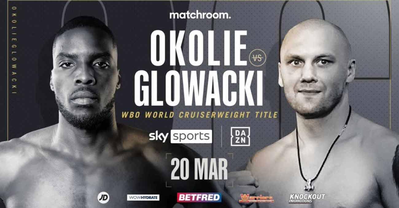 Lawrence Okolie vs Krzysztof Glowacki full fight video poster 2021-03-20