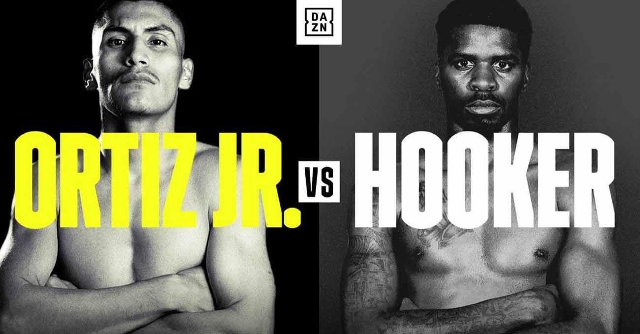 Vergil Ortiz Jr vs Maurice Hooker full fight video poster 2021-03-20