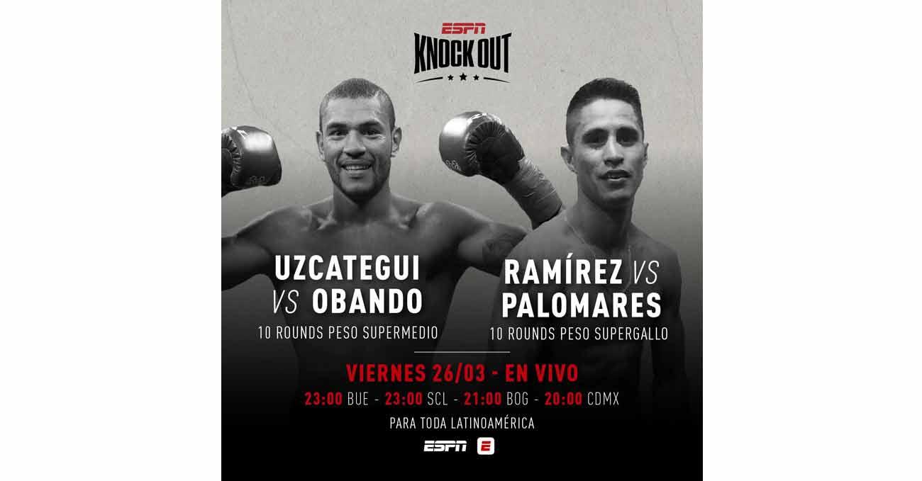 Edwin Palomares vs Cesar Ramirez full fight video poster 2021-03-26