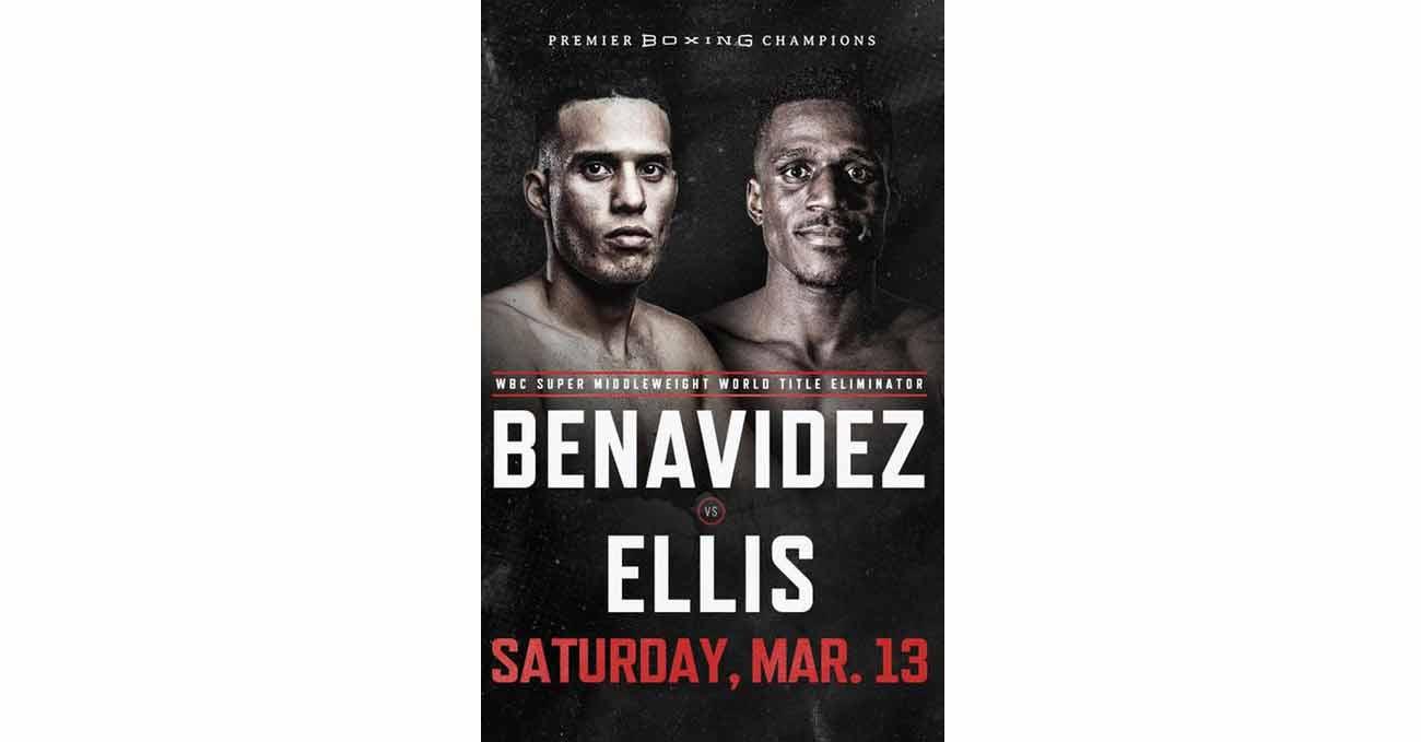Poster of Benavidez vs Ellis 2021-03-13