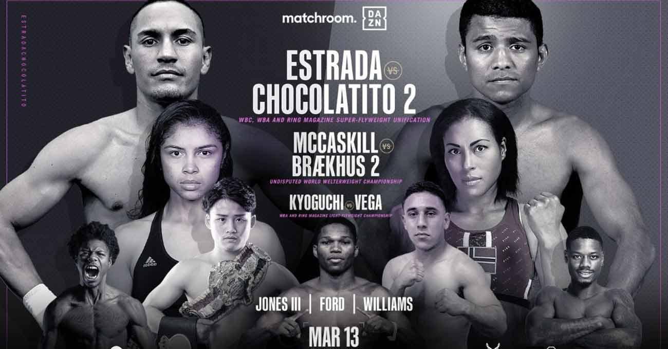 Poster of Estrada vs Chocolatito 2 2021-03-13