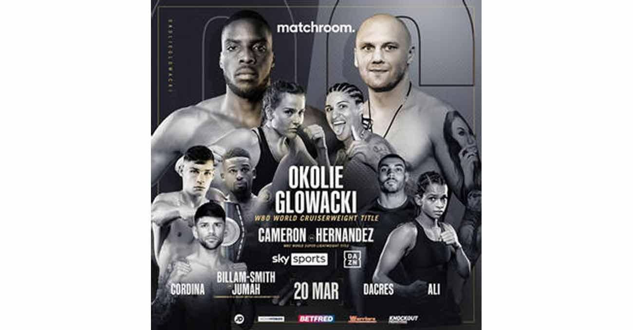 Poster of Okolie vs Glowacki 2021-03-20