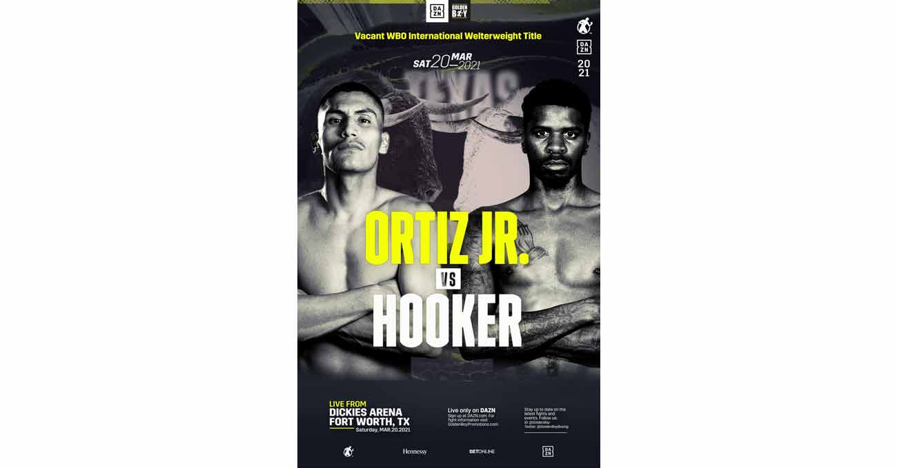 Poster of Ortiz vs Hooker 2021-03-20