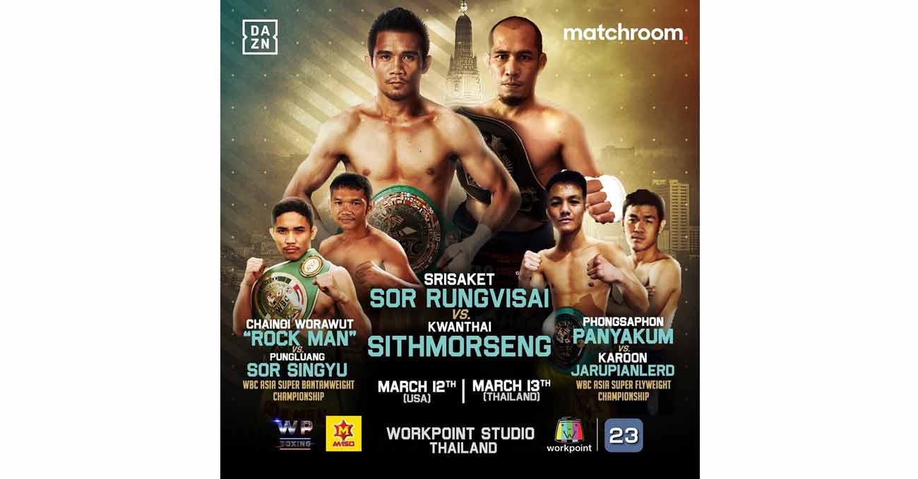 Srisaket Sor Rungvisai vs Kwanthai Sithmorseng full fight video poster 2021-03-13