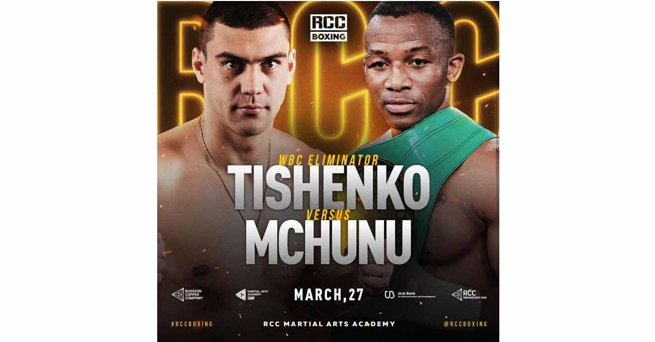 Evgeny Tishchenko vs Thabiso Mchunu full fight video poster 2021-03-27