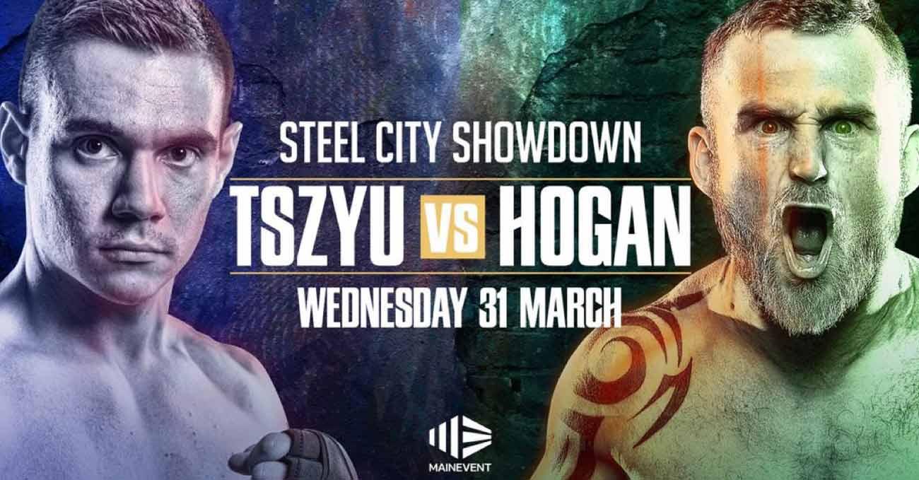 Tim Tszyu vs Dennis Hogan full fight video poster 2021-03-31