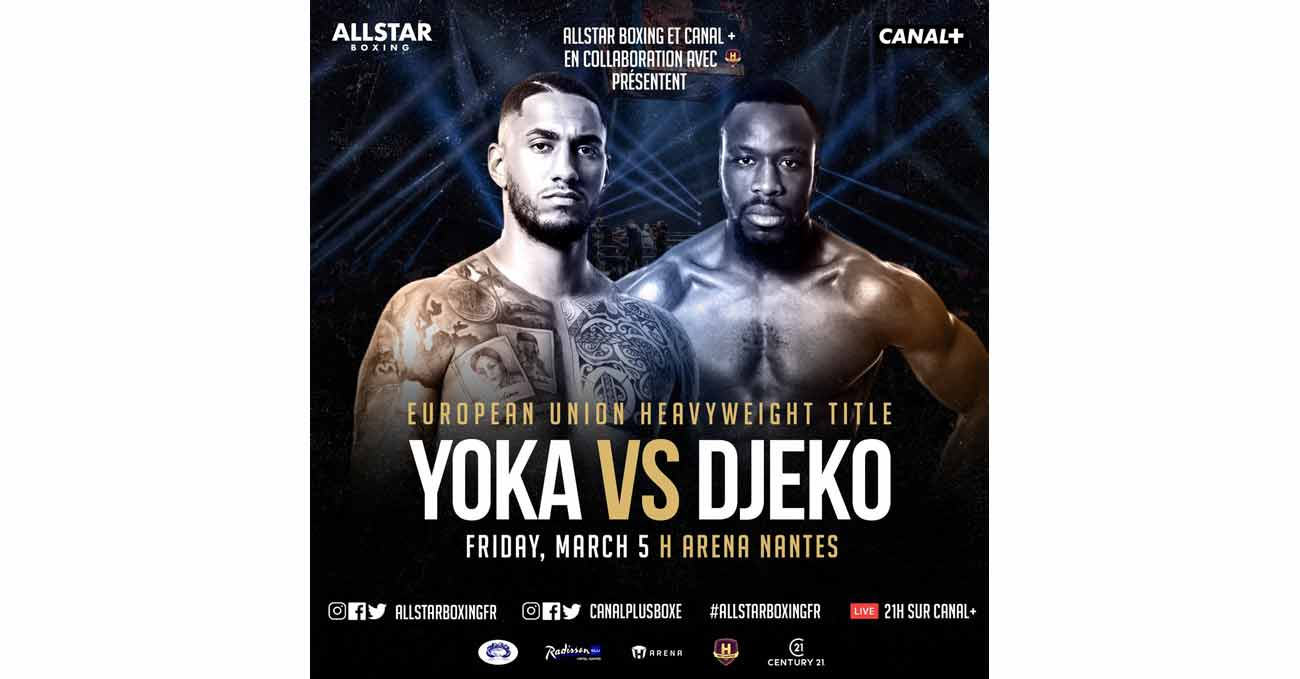 Tony Yoka vs Joel Tambwe Djeko full fight video poster 2021-03-05
