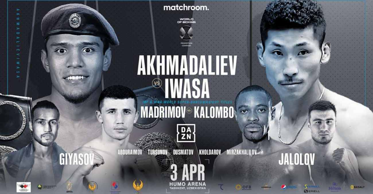 Murodjon Akhmadaliev vs Ryosuke Iwasa full fight video poster 2021-04-03
