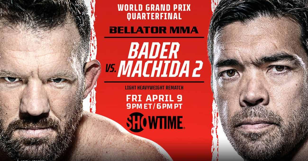 Ryan Bader vs Lyoto Machida 2 full fight video Bellator 256 poster
