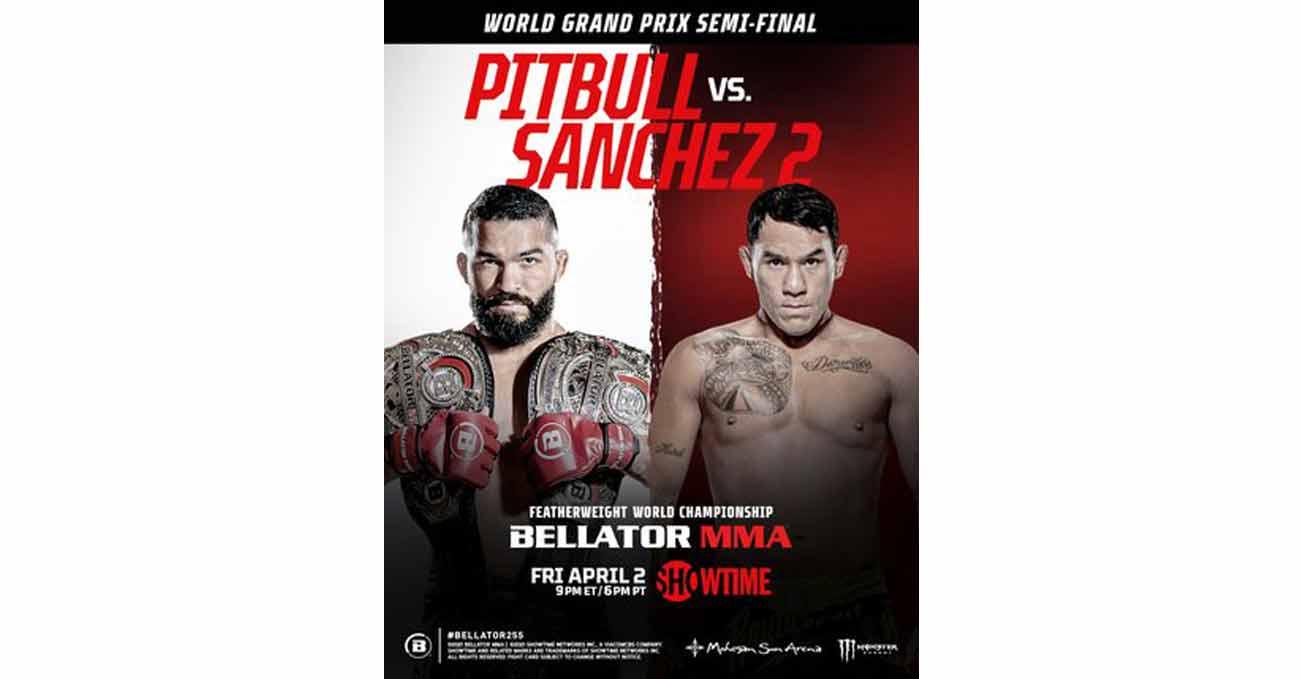 Poster of Bellator 255: Pitbull vs Sanchez 2