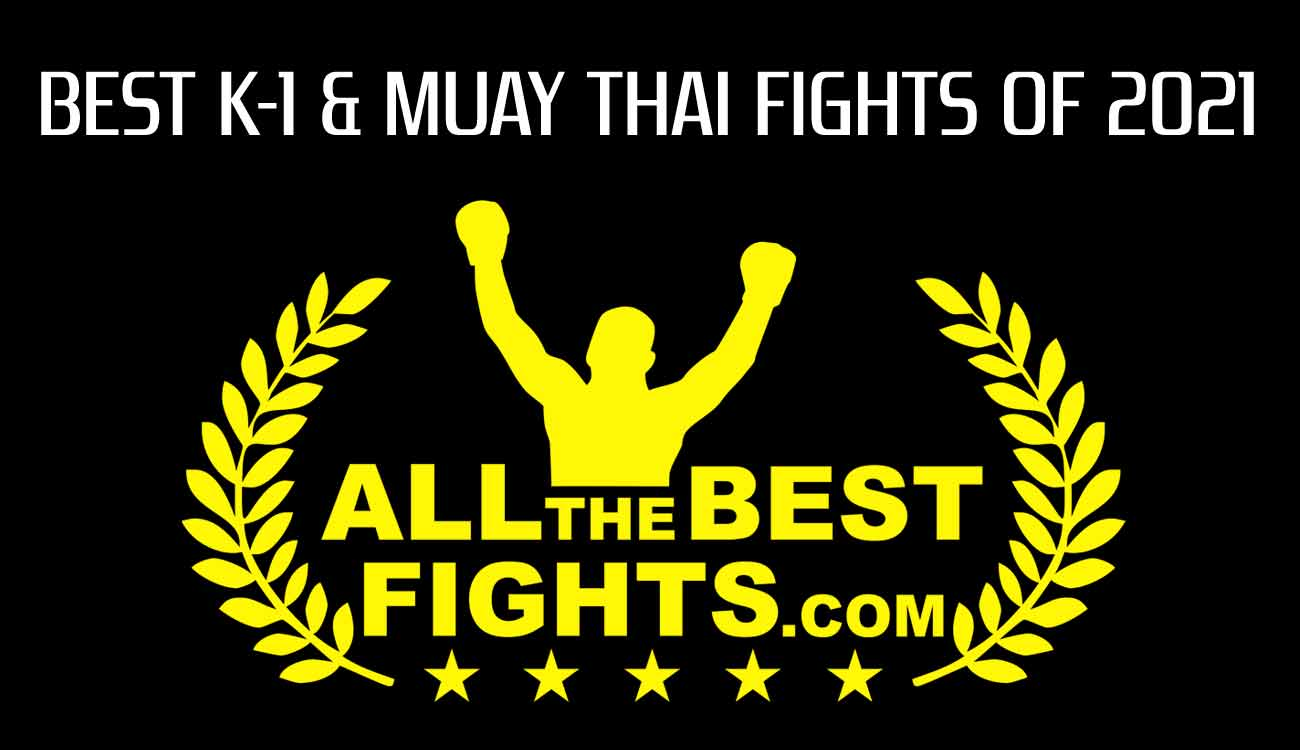 Ranking of the best kickboxing, k-1 and muay thai fights of the year 2021