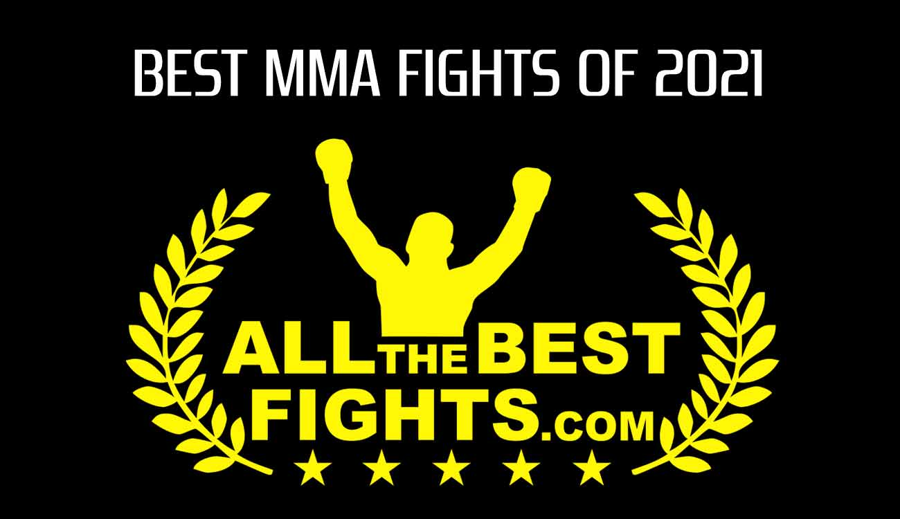 Ranking of the best mma fights of the year 2021