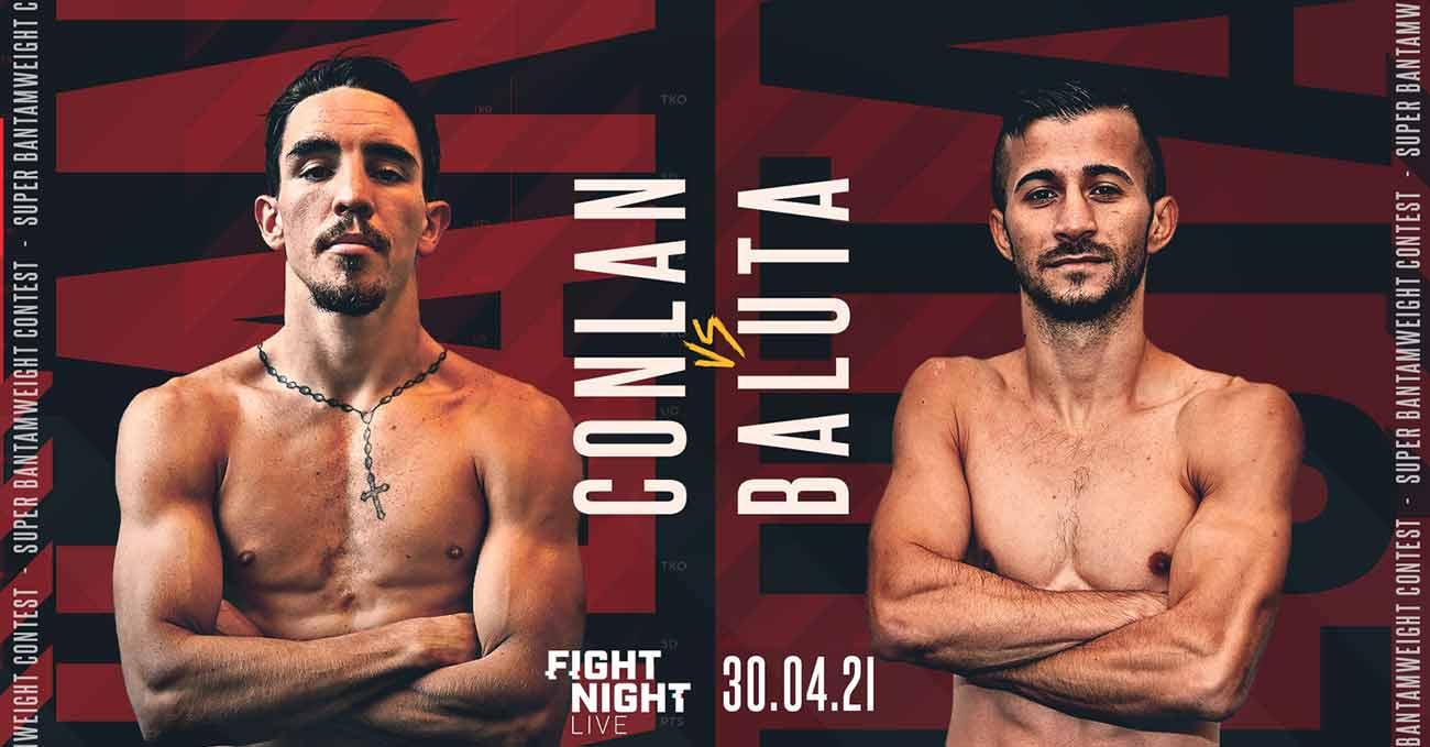 Michael Conlan vs Ionut Baluta full fight video poster 2021-04-30