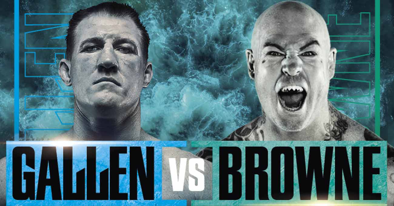 Paul Gallen vs Lucas Browne full fight video poster 2021-04-21