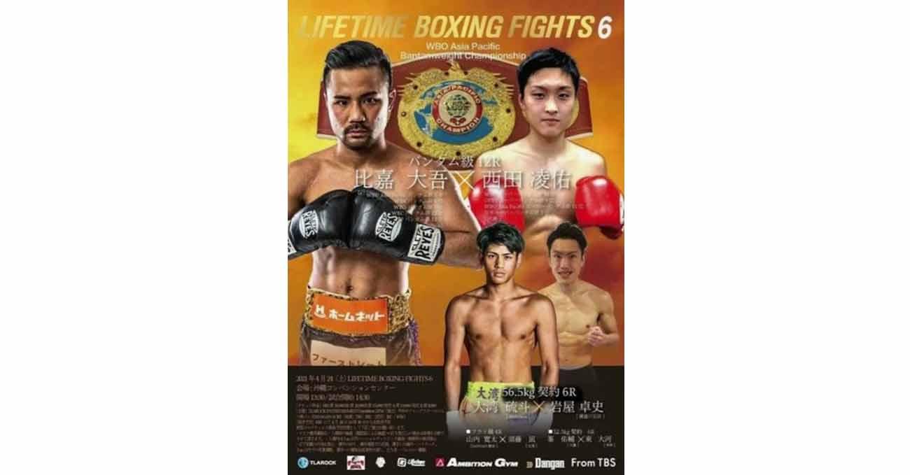Daigo Higa vs Ryosuke Nishida full fight video poster 2021-04-24