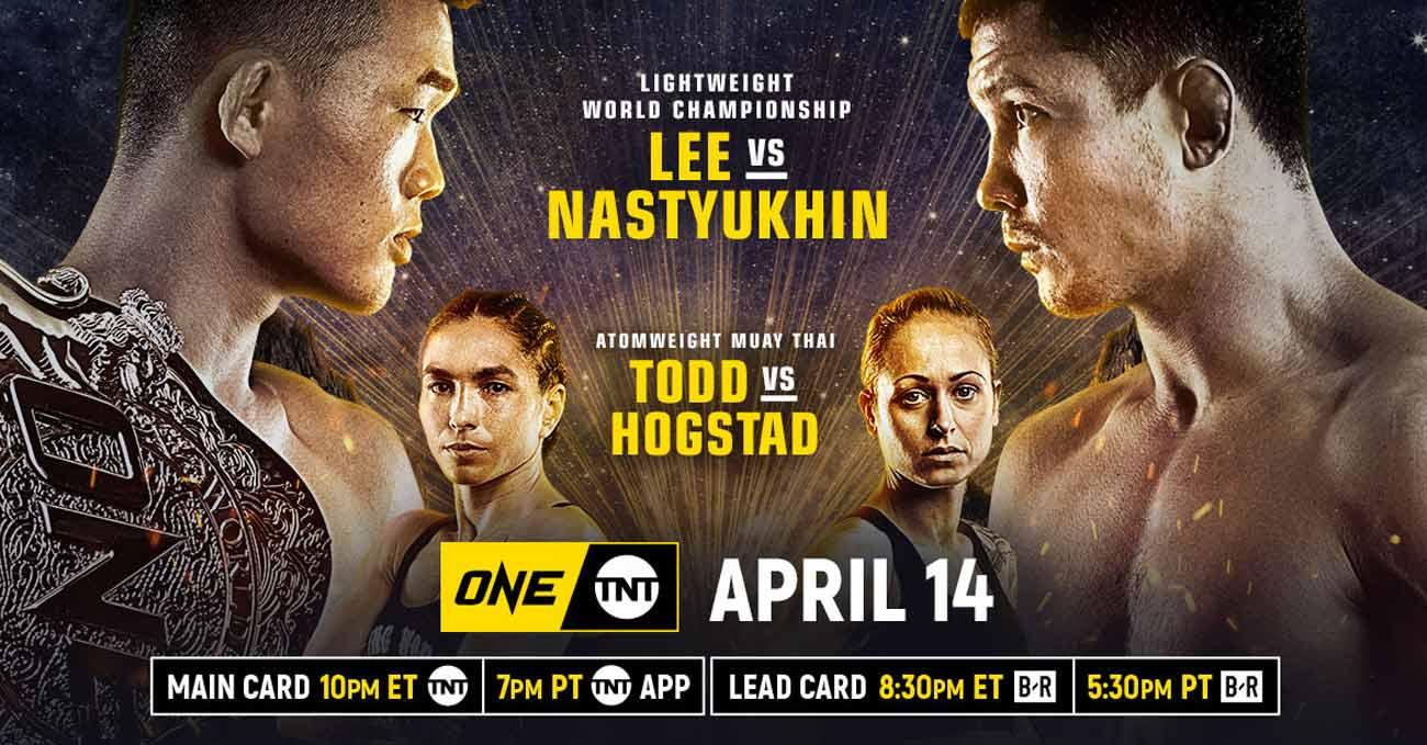 Christian Lee vs Timofey Nastyukhin full fight video ONE on TNT 2 poster