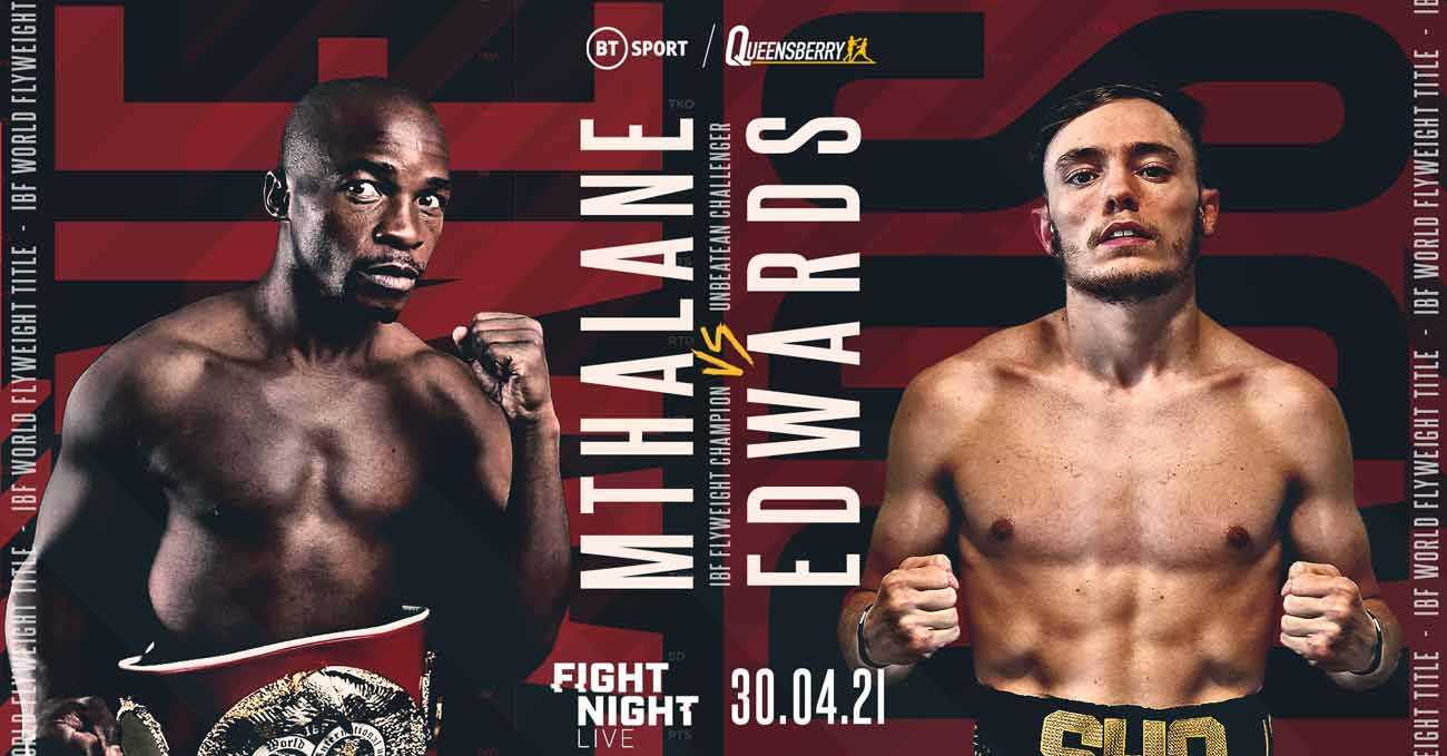 Moruti Mthalane vs Sunny Edwards full fight video poster 2021-04-30
