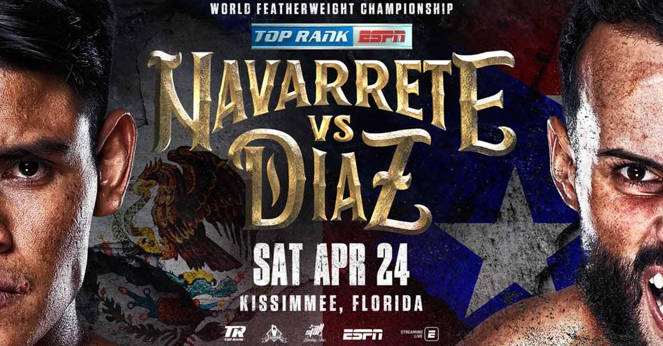 Emanuel Navarrete vs Christopher Diaz full fight video poster 2021-04-24
