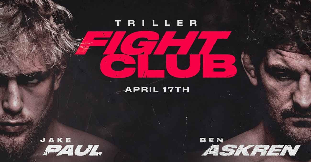 Jake Paul vs Ben Askren full fight video poster 2021-04-17