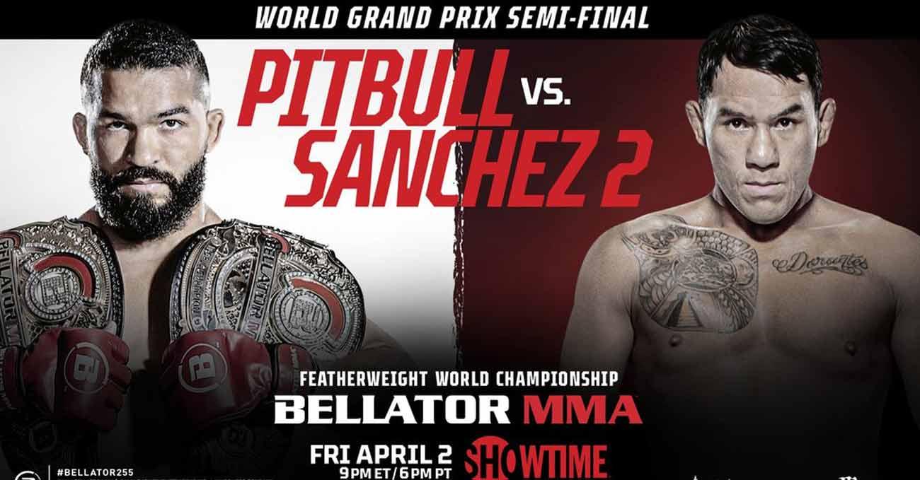 Patricio Freire vs Emmanuel Sanchez 2 full fight video Bellator 255 poster