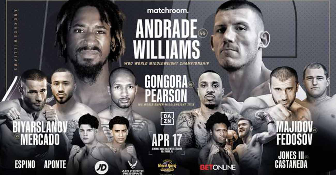 Poster of Andrade vs Williams 2021-04-17