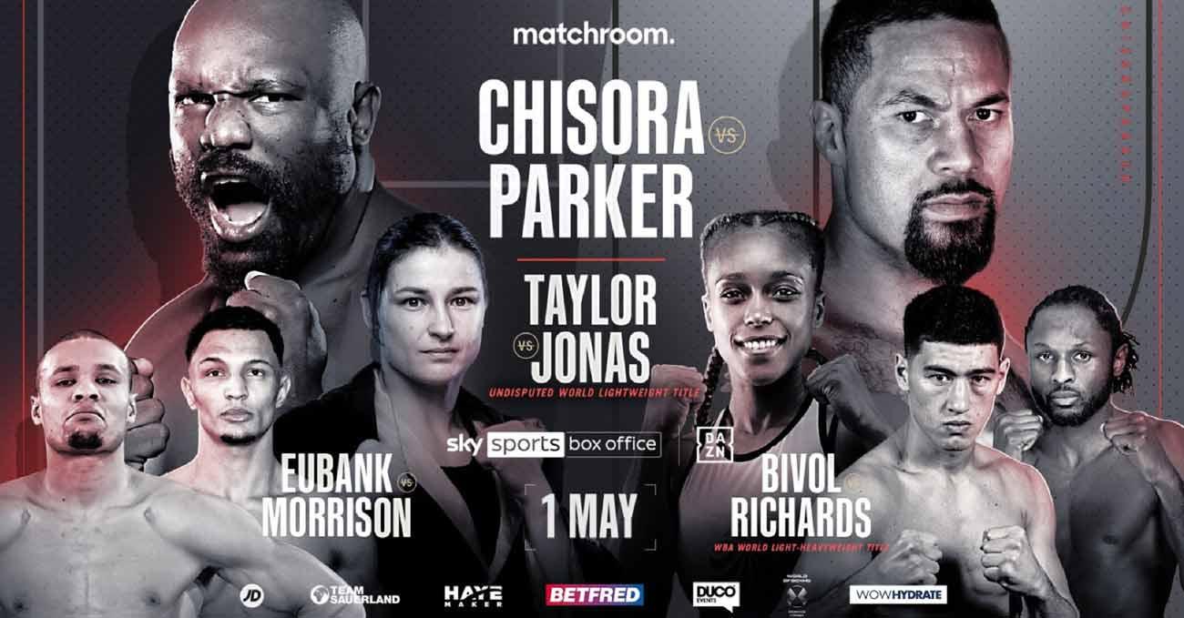 Poster of Chisora vs Parker 2021-05-01