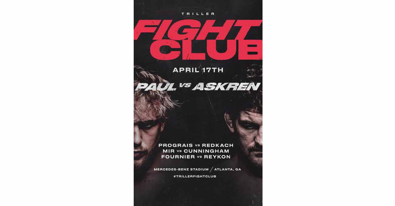 Poster of Paul vs Askren 2021-04-17